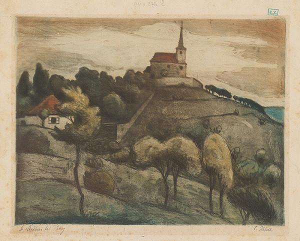 C. Hekel – Pohľad na kostol