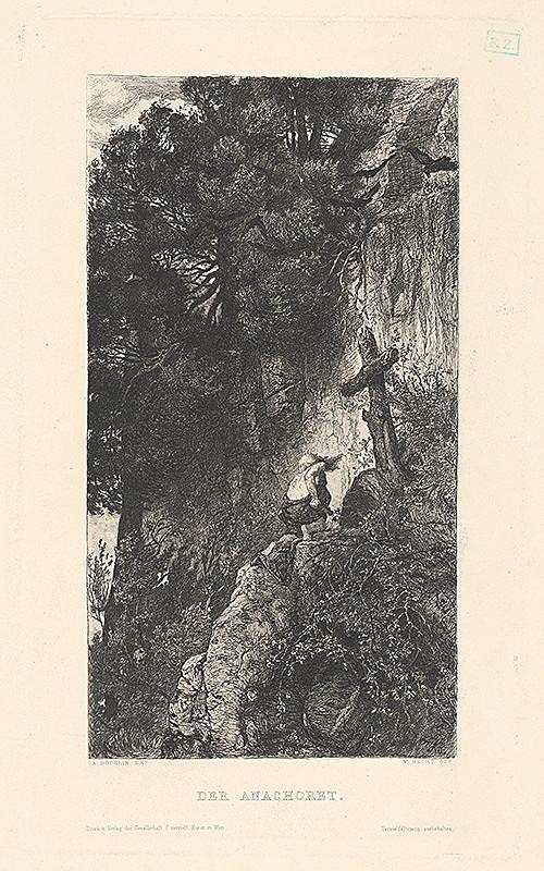 Wilhelm Hecht, Arnold Böcklin - Pustovník pri Kríži