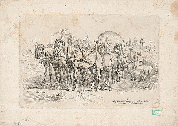 Johann Adam Klein – Povoz z Dolnej zeme