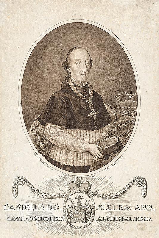 Johann Gottlieb Prestel, J.M. Coneberg – Portrét kardinála