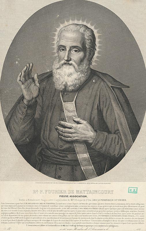 Francúzsky grafik z polovice 19. storočia – Portrét cirkevného predstaviteľa