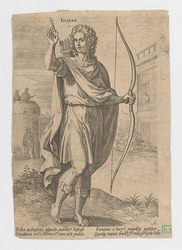Stredoeurópsky grafik z 18. storočia - Jozef Egyptský