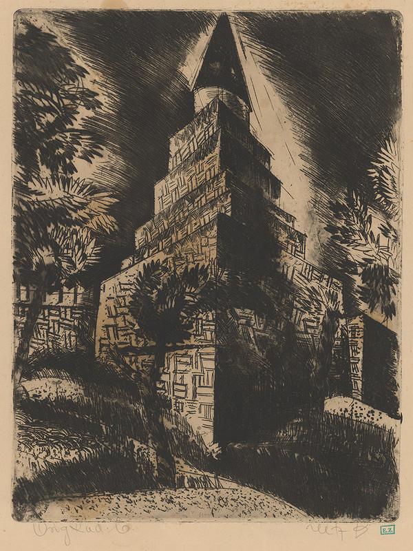 Béla Uitz - Veža