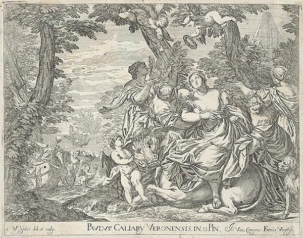 V. Lefebre, Paolo Veronese, Jacob van Campen - Únos Európy
