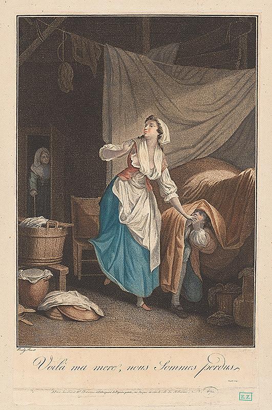 Louis-Jacques Beaublé, Boisly – Galantná scéna