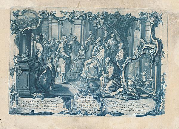 Johan Philipp Koch, Gottfried Johann Eichler - Jozef vykladá sen faraónovi