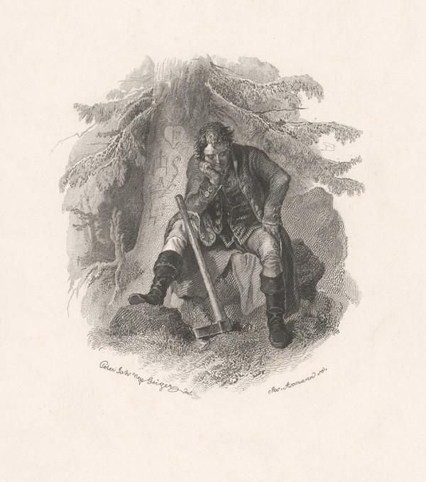 Josef Axmann, Peter Johann Nepomuk Geiger – Mladý drevorubač