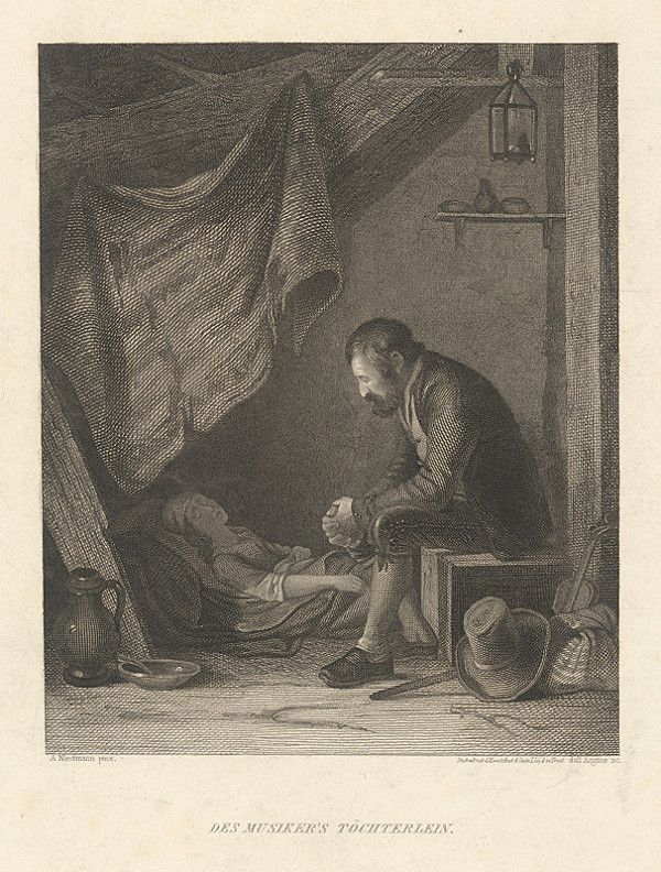 Argine, August Heinrich Niedmann - Muzikantova dcéra