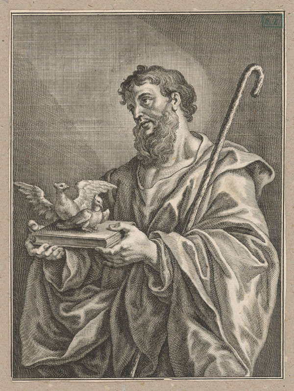 Stredoeurópsky grafik – Svätý František ?