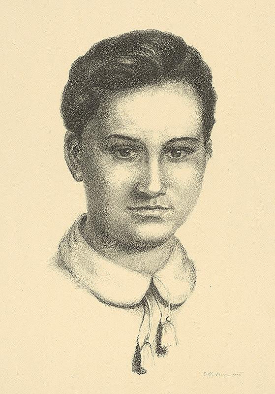 Elena Haberernová - Portrét dievčaťa
