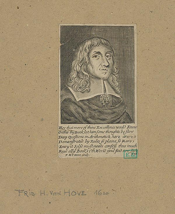 Frederick-Hendrik van den Hove - Portrét muža v bielom golieri