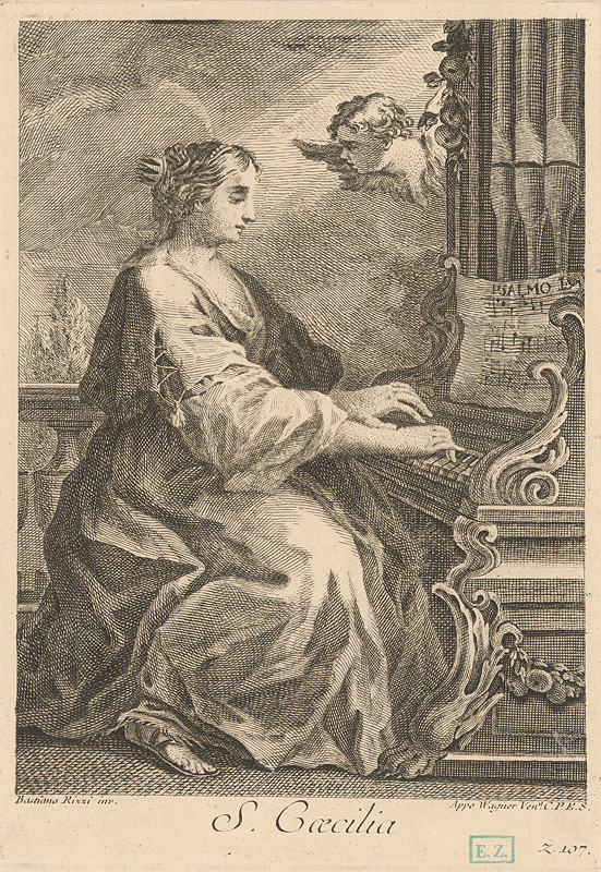 Joseph Wagner, Sebastiano Ricci – Sv. Cecília
