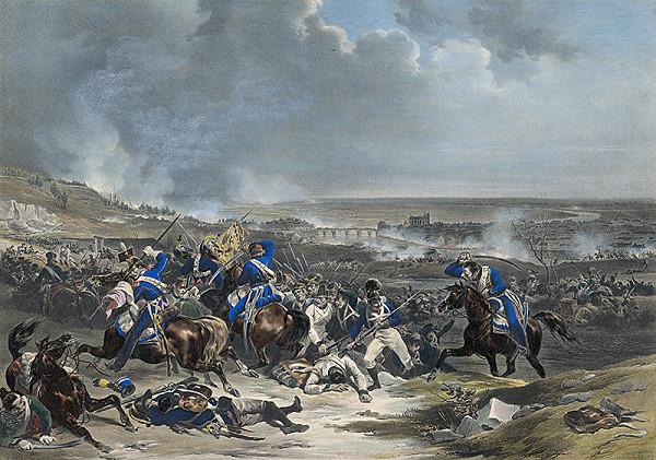 Francúzsky grafik - Bitevné pole počas napoleonských vojen