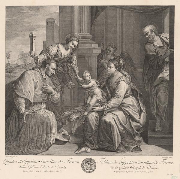 Scarsellino, Marcello Bacciarelli - Madona so svätcami