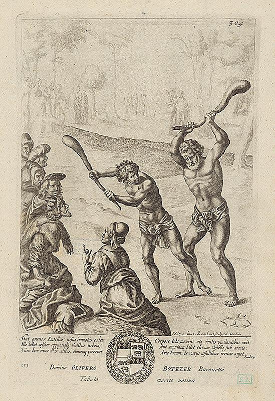 Francis Cleyn, Pierre Lombart – Ilustrácia k Vergiliovej Aeneis