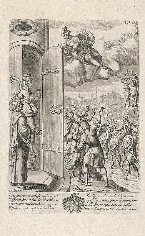 Francis Cleyn, Pierre Lombart – Ilustrácia k Aeneis ?