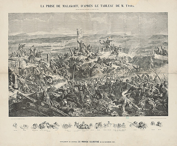 William Frederick Measom, Gustave Janet – Zajatie Malakova