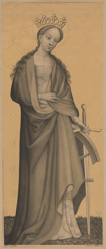 Leo Schöninger, Kolínsky majster, Johann Nepomuk Strixner – Svätá Katarína