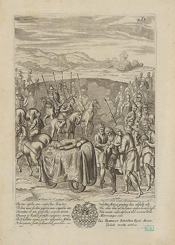 Francis Cleyn, Pierre Lombart – Smútok Priama za Hektorom ?