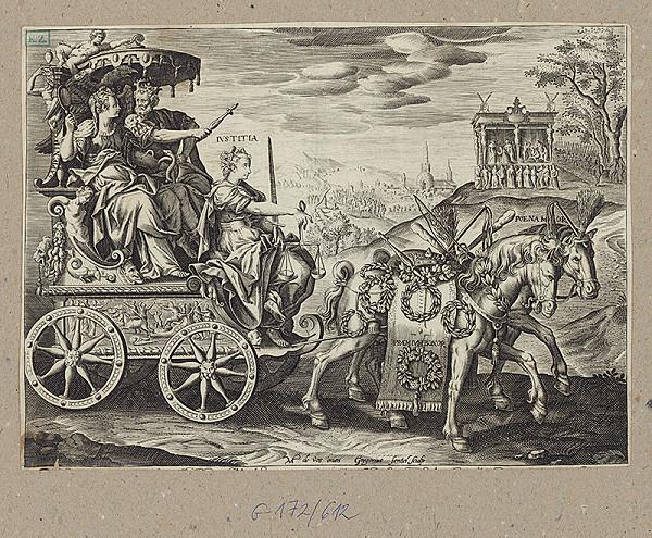 Gregorius Fenzel, Antonio Lafréry - Triumf kráľovskej spravodlivosti