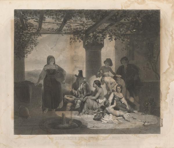 Friedrich Weber, Niederbühl, S. Artaria – Španielski cigáni