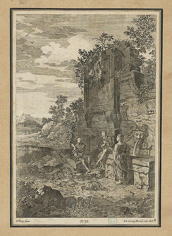 Johann Georg Hertel, Franz de Paula Ferg – Pri prameni