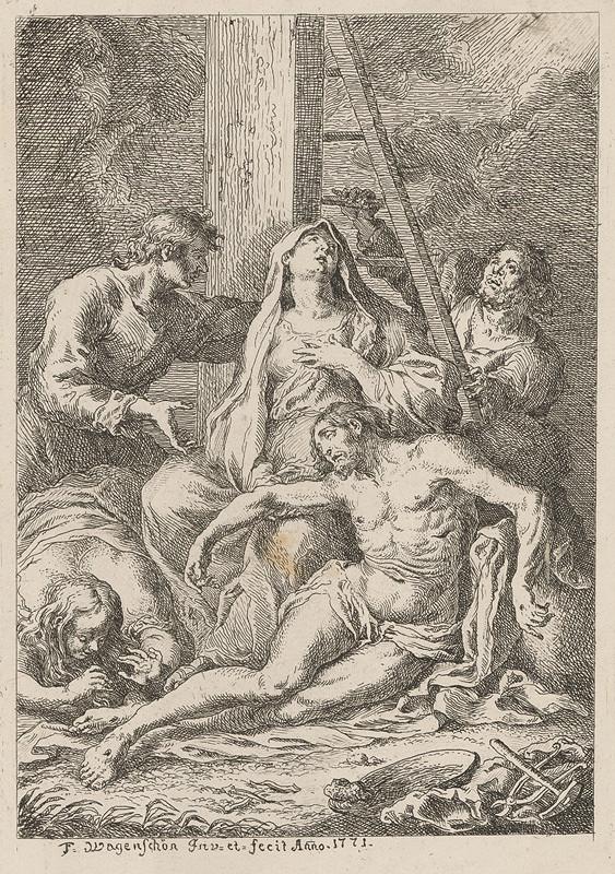 Franz Xaver Wagenschön – Snímanie z kríža