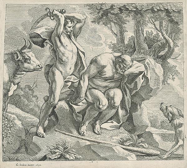 Jacob Jordaens – Argos, Hermes a začarovaná Ió