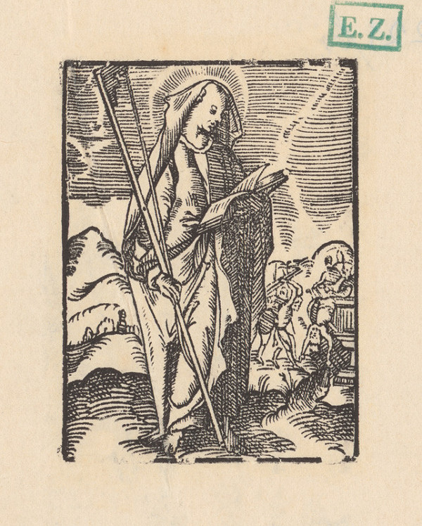 Kopista, Hendrick Goltzius – Svätý Jakub Mladší