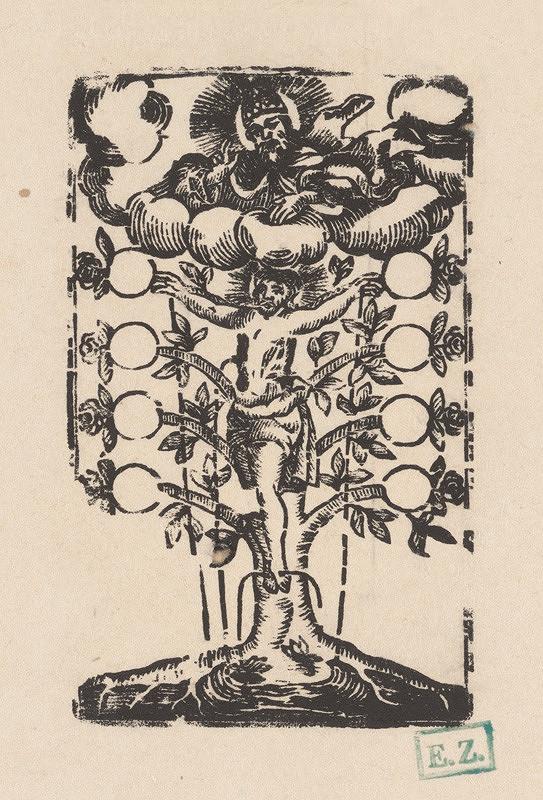 Provinčný grafik s barokovými rezíduami – Strom života