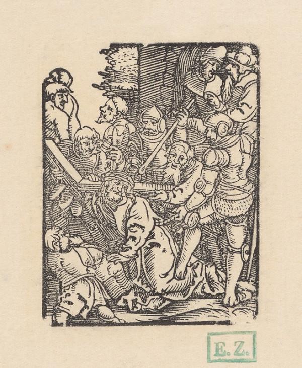 Erhard Schön - Nesenie kríža