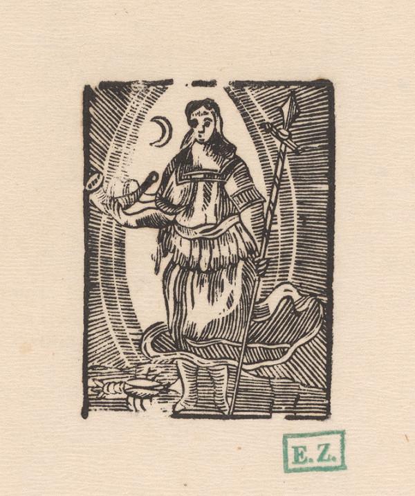 Provinčný grafik, Jan Willenberger – Luna so znamením Raka