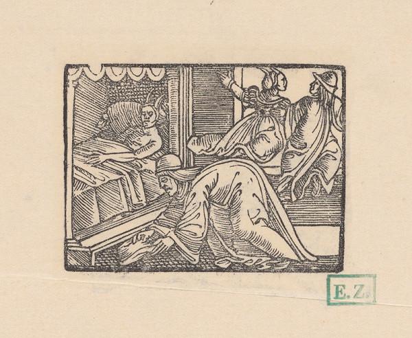 Kopisti, Hans Brosamer - Andolsio lieči Agripine rohy a nachádza svoj kúzelný klobúčik