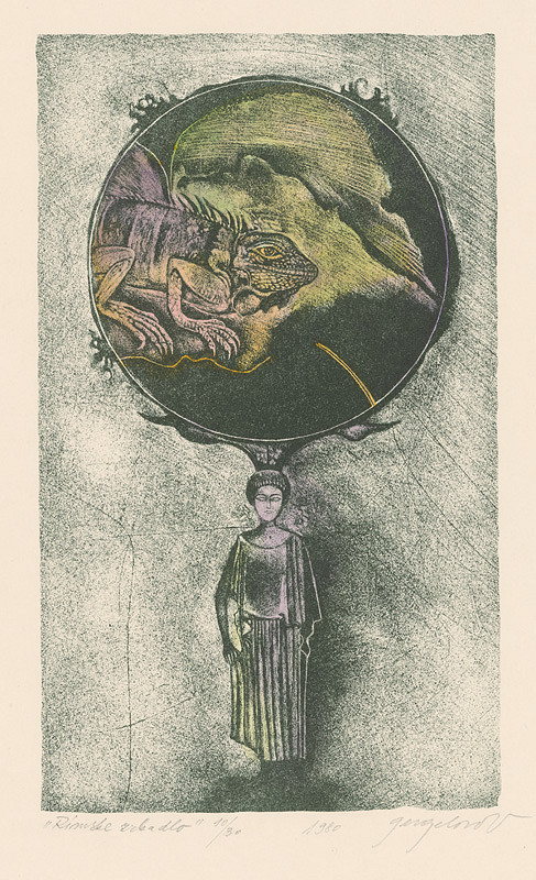 Viera Gergeľová - Rímske zrkadlo