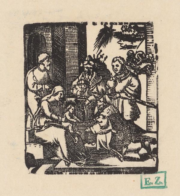 Grafik, Hans Springinklee, Erhard Schön – Klaňanie Troch kráľov