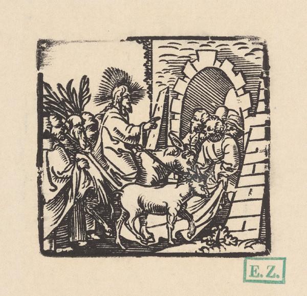 Kopista, Hendrick Goltzius - Kristov vjazd do Jeruzalema