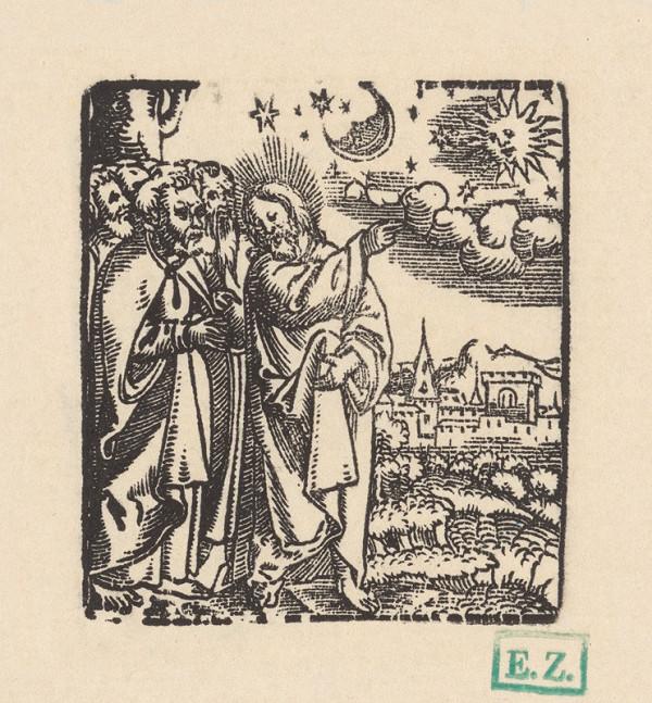 Grafik, Hans Springinklee, Erhard Schön - Znamenia z neba