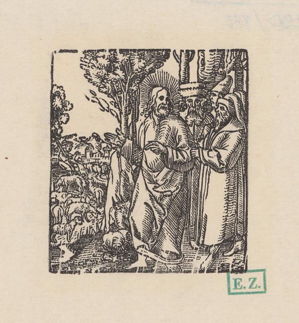 Grafik, Hans Springinklee, Erhard Schön - Podobenstvo o stratenej ovci