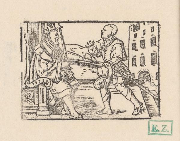 Kopisti, Hans Brosamer - Fortunátus odmietajúci peniaze cyperského kráľa na svadbu ?