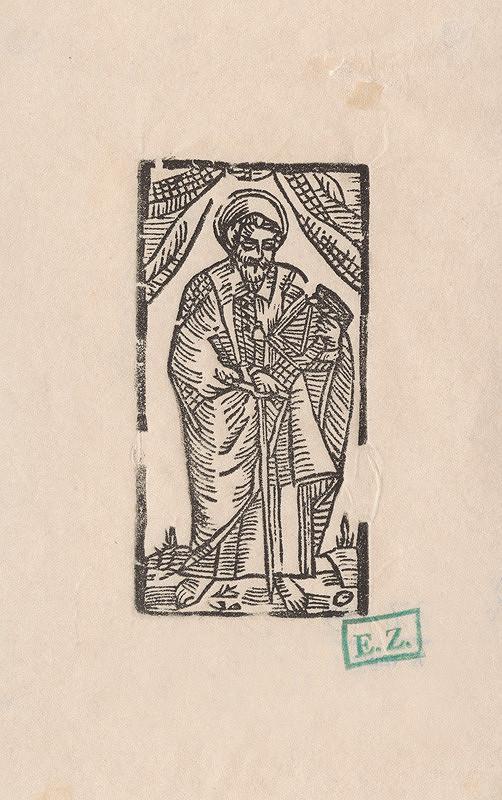 Provinčný grafik preberajúci ikonografický program, Erhard Schön, Hans Springinklee – Svätý Matúš apoštol