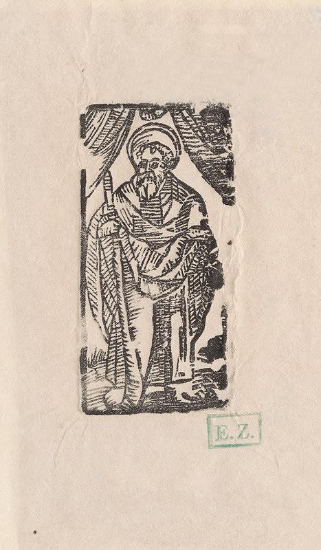 Provinčný grafik preberajúci ikonografický program, Erhard Schön, Hans Springinklee – Svätý Juda Tadeáš