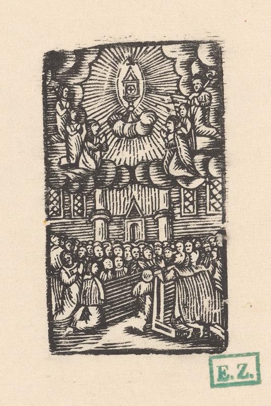 Provinčný grafik – Adorácia Oltárnej sviatosti