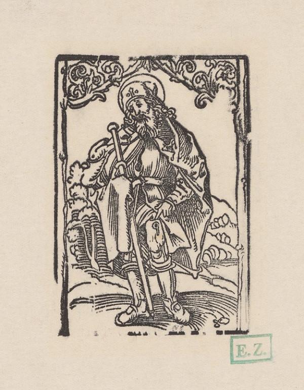 Erhard Schön - Svätý Rochus