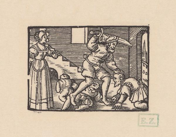 Kopisti, Hans Brosamer – Vraždenie troch cisárskych rytierov
