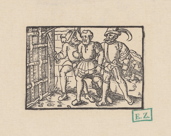 Kopisti, Hans Brosamer – Fortunáta odvádzajú do väzenia