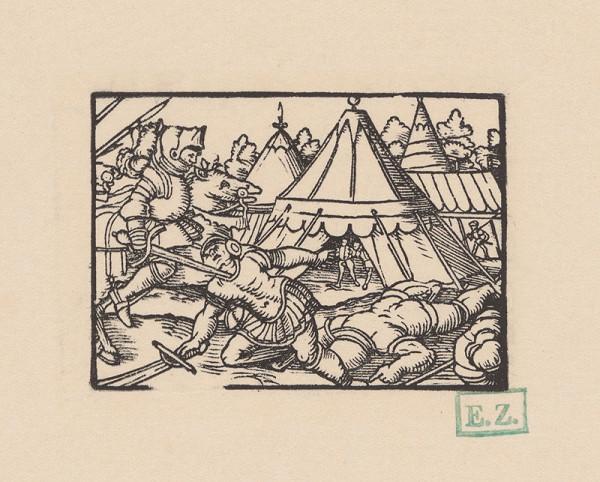 Kopisti, Hans Brosamer - Štilfríd poráža markgrófa Theobalda ?