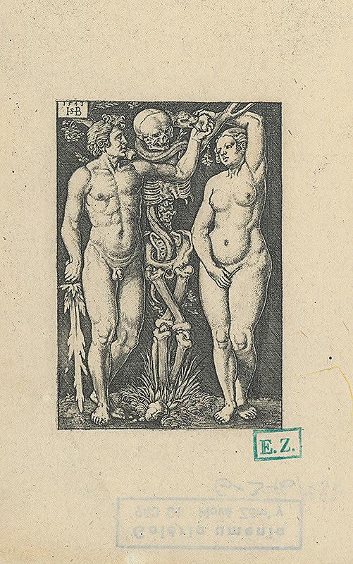Hans Sebald Beham - Adam a Eva
