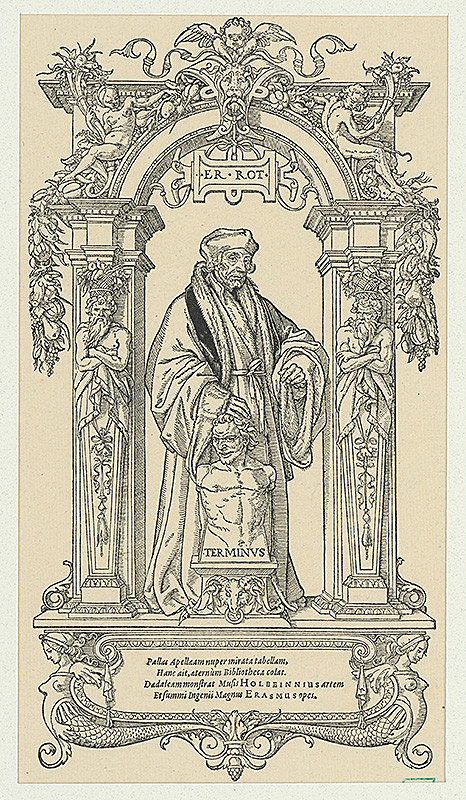 Hans Lützelburger, Hans Holbein ml. – Erazmus Rotterdamský