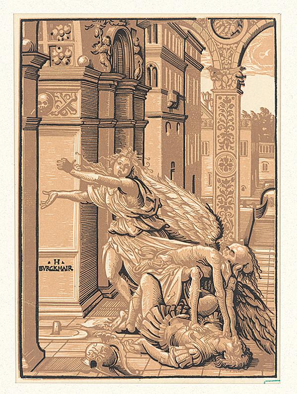 Hans Burgkmair st. – Smrť ako škrtič