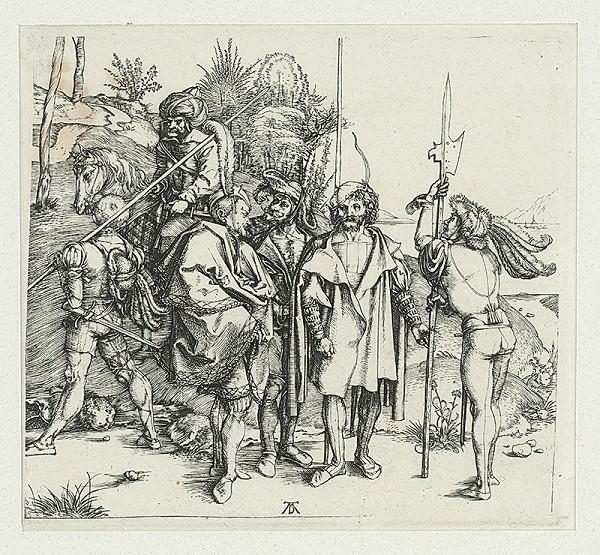 Albrecht Dürer - Šesť bojovníkov